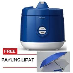 Jual Philips Rice Cooker Hd3127 Biru Online Indonesia
