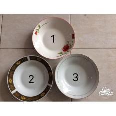 Piring Makan Cekung Keramik 9.25 Berbagai Merk - C933D3