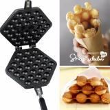 Harga Hemat Pitaldo Pan Panggangan Wafel Telur 30 Lubang Dengan Teflon Egg Waffle Maker Pan