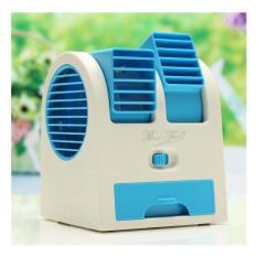 [Platinum] NEW COLOR AC Duduk Mini Portable - Double Blower Mini AC Kipas Angin