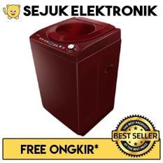 Polytron PAW-9512 Mesin Cuci Top Loading 9.5 Kg - Merah (KHUSUS JADETABEK)