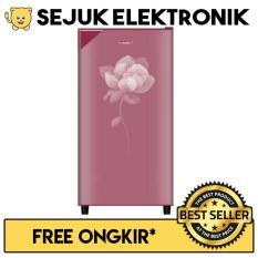 Polytron PRY180 Lemari Es / Kulkas 1 Pintu 180 Liter - Pink (KHUSUS JADETABEK)