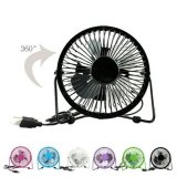 Portable Mini Fan Usb Kipas Angin Kecil Model Besi Murama Diskon