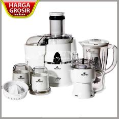 Power Juicer + Blender + Chopper Vicenza VT 337 - 7 in 1 - Putih -Kuat
