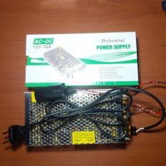 Beli Power Supply Adaptor 220 Volt To 12 Volt 10A Socket Lighter Pemantik Ade39C Seken
