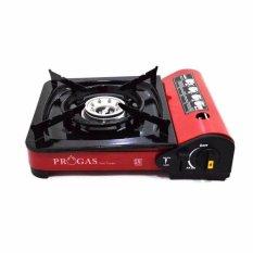 Progas Kompor Portable Untuk Gas Kaleng Dan Gas Elpiji 3KG & 12KG