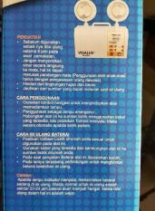 PROMO - LAMPU EMERGENCY VISALUX  VS-2124 / LAMPU HIGH BRIGHT MODEL