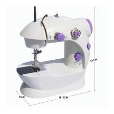 Ulasan Mengenai Promo Mesin Jahit Mini Mini Sewing Machine Portable Gt 202 Mesin Jahit Mini Putih