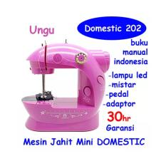 MESIN JAHIT MINI PORTABLE GT-202 · Domestic Corner Sewing Machines .