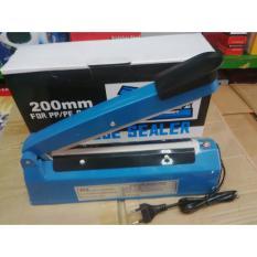 Q2 Impulse sealer PFS- 200 Alat Press Plastik 20 CM - Biru - 4.
