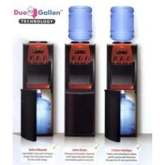 PROMO MURAH.. Sanken HWD-Z88 - Water Dispenser - Duo Galon Atas & Bawah - Hitam