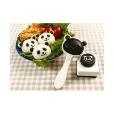 promo Pencetak Cetakan Panda Nasi Rice Sushi Mold Bento Nori Seaweed Puncher original