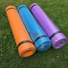 Promo Tahun Ini Murah Yoga Mat Import PVC 6Mm Matras Senam Fitnes Karpet Gym Ball Alat