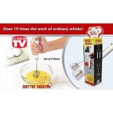 PROMO.......Mixer tangan otomatis Manual harga 1 set 2pcs L88 ORIGINAL
