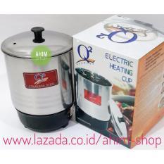 Beli Q2 14Cm Pemanas Air Mug Teko Panci Listrik Stainless Steel Electric Heating Cup 190W Cicil
