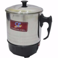 Q2 8012 Electric Heating Cup 12 Cm - Silver By Bl Electrik.