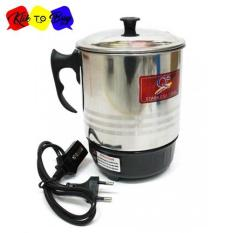 Q2 New Series 12cm Pemanas Air Mug Teko Panci Listrik Stainless Steel Serbaguna - Electric Heating Cup 190W