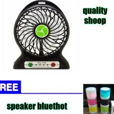 Spesifikasi Qualitymini Kipas Angin Mini Free Speker Bluethot Paling Bagus