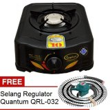 Spesifikasi Quantum Kompor Gas 1 Tungku Qgc 101R Hitam Gratis Quantum Selang Regulator Qrl 032 Yang Bagus Dan Murah