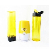 Quincyhome Shake N Take 3 2 Cup Kuning Quincy Home Murah Di Indonesia