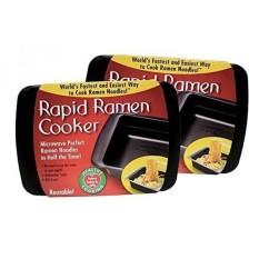 Cepat Ramen Cooker-Microwave Instan Mie Ramen Dalam 3 Menit (Paket 2) (Kemasan Mei Vary)-Internasional