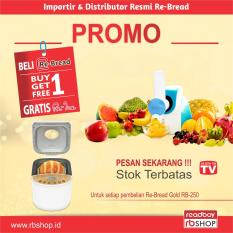 Rebread Rb 250 Gold Gratis Reice Alat Pembuat Ice Cream Dan Salad Maker Rebread Diskon 40