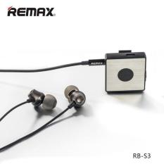 Remax Clip-On Bluetooth Earphone / Receiver Bt 4.1 Rb-S3 100% Original