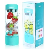 Beli Remax Portable Electric Fruit Juicer Cup Blender Vegetable Citrus 400Ml J 01 Biru Cicilan