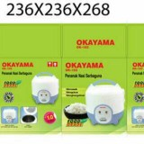 Review Toko Rice Cooker Magic Com Okayama Kapasitas 1 Liter 3 In 1 Ok 103 Online