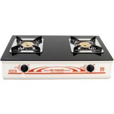 Spesifikasi Rlitachi Kompor Gas 2 Tungku Kaca Rt 877 Tgw Putih Terbaik