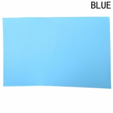 Roman Holiday 1 Pcs Multifungsi Anti Bakteri Anti-Fouling Anti-Frost Waterproof Kulkas Pads Kulkas Ma Blue1 -Intl