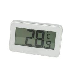Roman Holiday Mini Digital LCD Thermometer untuk Kulkas Freezer Ruang dengan Magnetic Hook Frost Alert-Intl