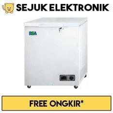 RSA CF-150 Chest Freezer 150 Liter - Putih (JADETABEK ONLY)