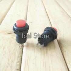 Saklar Push On Off Kecil Bulat Warna - Cbb55a