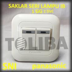 Saklar Seri Lampu Inbow Panasonic Wej5571 / 2 Saklar Tanam Tembok Sni - 6Cbd97