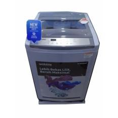 Samsung Mesin cuci 1 tabung WA10M5120SG – Abu-Abu - Khusus Jadetabek
