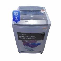 SAMSUNG Mesin Cuci Top Loading 10 Kg - WA10M5120SG - Khusus JABODETABEK