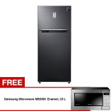 Harga Hemat Samsung Rt53K6231Ibs Refrigerator Kulkas 2 Pintu 528 L Gratis Samsung Microwave Me83M Solo Dengan Ceramic Enamel 23 L