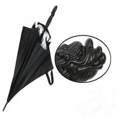 Samurai Umbrella - Payung Pedang Golf Fiber Hitam Mobil Unik Besar