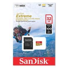 Sandisk MicroSD Extreme Plus U3 4K V30 32GB R100MB/s - SDSQXAF-032G A1