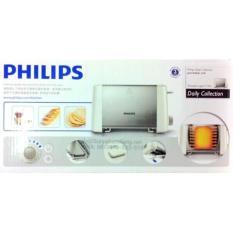 Sandwich Bread Toaster Philips Hd4825 Stainless Asli-Baru-Garansi Resm - Dbb67d