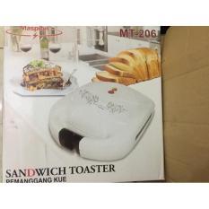 Sandwich Toaster Maspion Mt 206 Pemanggang Roti Panggangan Kue Waffle - 96D6cc