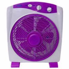 Sanex Kipas Angin Meja Model Box Fan 12 Inch – Ungu /hijau