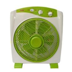 Sanex SB 818 Kipas Angin Kotak/Box Fan – Hijau