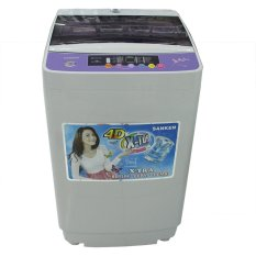 SANKEN ASW866 P Mesin Cuci Top Loading 1 Tabung 7 kg - Free Ongkir Jabodetabek