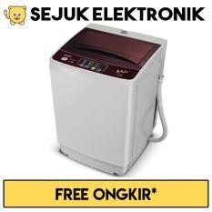 Spesifikasi Sanken Aw S855Pp Mesin Cuci Top Loading 6 5 Kg Putih Maroon Jadetabek Only