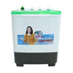 Sanken - Mesin Cuci 2 Tabung 7kg TW-8700 - Green