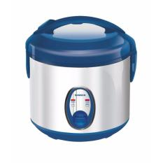 Ulasan Sanken Rice Cooker Supercom 1 Liter Sj120Sp Premium Stainless Steel