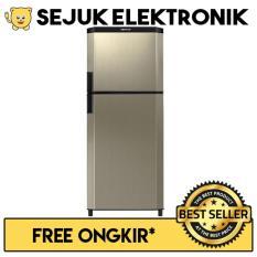 Sanken SK-V231-ACB Kulkas 2 Pintu 230 Liter - Gold (Khusus Jadetabek)