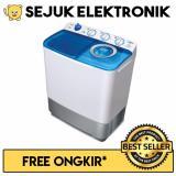 Toko Sanken Tw 882 Mesin Cuci 2 Tabung 7 Kg Putih Biru Khusus Jadetabek Indonesia
